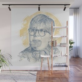 OH FUDGE RALPHIE! Wall Mural