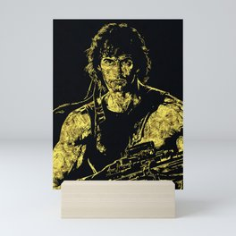 John Rambo - The Legend Mini Art Print