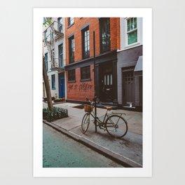 New York's West Village Art Print