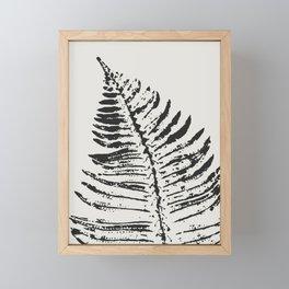 Fern Impression Framed Mini Art Print