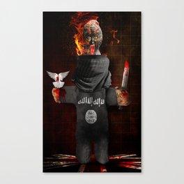Jihadi John Canvas Print