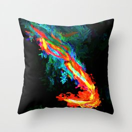 Abstract Print #1 Throw Pillow