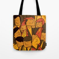 goonies Tote Bags featuring The Goonies by Ale Giorgini