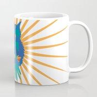 coachella Mugs featuring Wide Awake by Dulce Velasco