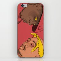 tupac iPhone & iPod Skins featuring Resting Kings by Aybee Omari