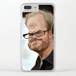 Jim Gaffigan Clear iPhone Case