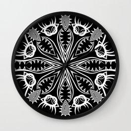 Geometric nature Wall Clock