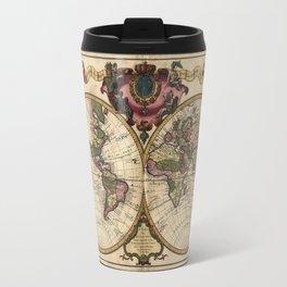 Mappemonde a l'usage du roy (World Map 1720) Travel Mug