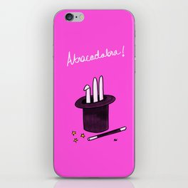 Society6 / Abracadabra ! iPhone Skin