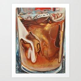 Shrine to Iced Coffee Art Print