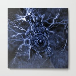 THE MIGHTY THOR Metal Print