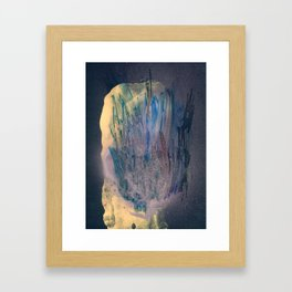 VIRGIN WOODS x THE BUTCHER (back) Framed Art Print