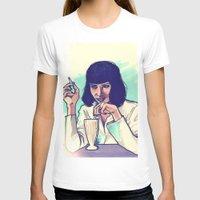 mia wallace T-shirts featuring Mia Wallace by ARTBYSKINGS