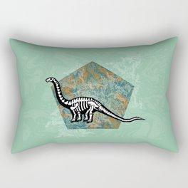 Brachiosaurus Fossil Rectangular Pillow