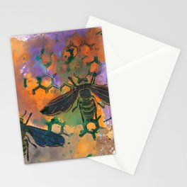 Insects that Fly Stationery Cards