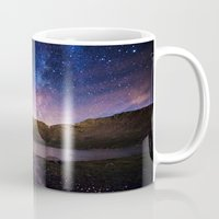 starry night Mugs featuring Starry Night by Davies Babies Photography