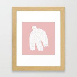 White Dove Framed Art Print