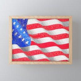 USA USA USA Framed Mini Art Print