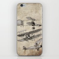 airplanes iPhone & iPod Skins featuring airplanes by Кaterina Кalinich