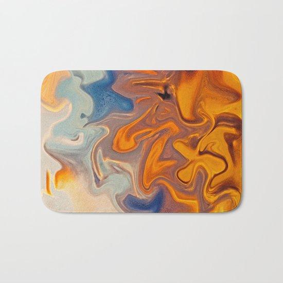 SKY ON FIRE Bath Mat