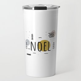 Minimal Holiday Designs :: Noel Travel Mug