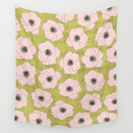 Anemone Pattern Wall Tapestry