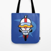gizmo Tote Bags featuring Hello Gizmo by Hoborobo
