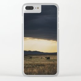 a new mexico storm ... Clear iPhone Case