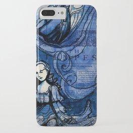 The Tempest - Miranda - Shakespeare Folio Illustration iPhone Case