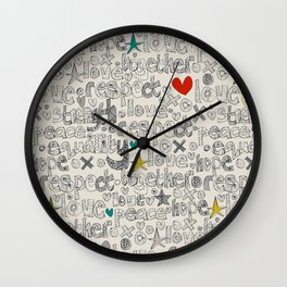 respect Wall Clock