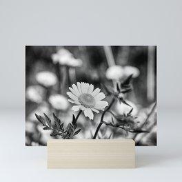 Singularity III - Black & White Mini Art Print