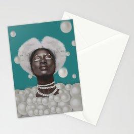 Ebony of the night Stationery Cards