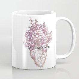 Murderino Heart and Flowers Pink   MFM Coffee Mug