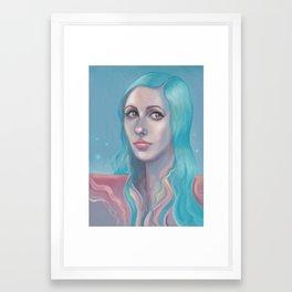 Aya Framed Art Print