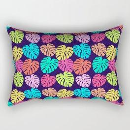 Monstera Deliciosa Print Rectangular Pillow