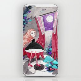 Dentro de la torre iPhone Skin
