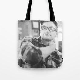 photo of handsomest man ever Tote Bag