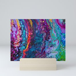 Vibrant Ruffles Mini Art Print