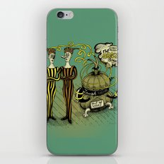 The Electro Bros and The Laugh Machine iPhone & iPod Skin