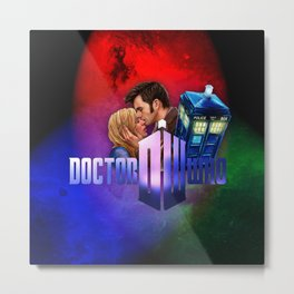 Dr.Who memories Metal Print