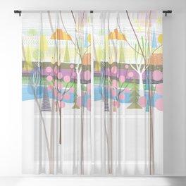 Tikal Experience Sheer Curtain