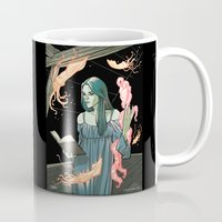 lovecraft Mugs featuring Lovecraft Heart by ChiaraDi Francia