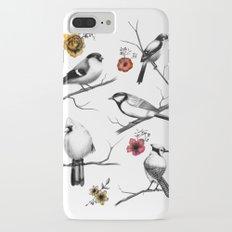 BIRDS & FLOWERS iPhone 7 Plus Slim Case