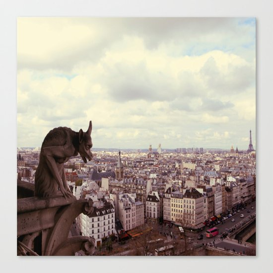 La Cite Canvas Print