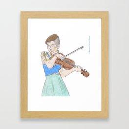 Lillie Mae Framed Art Print