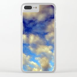 Clouds after rain and thunderstorms in the sky Clear iPhone Case