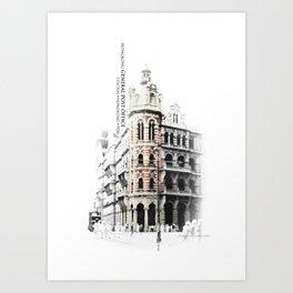 ...memory of Hongkong - General Post Office Art Print