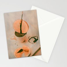 Sweet fruits whith cocolate Stationery Cards