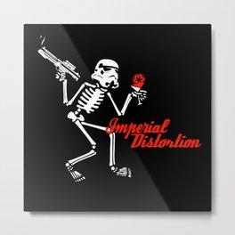 Imperial Distortion Metal Print