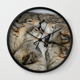 Muzzle Nuzzle Wall Clock